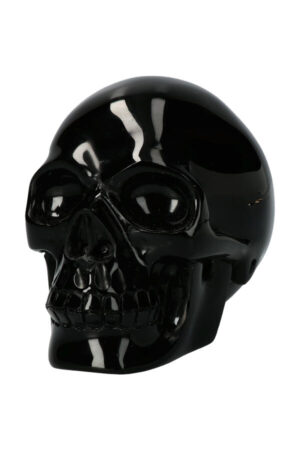 Obsidiaan realistische kristallen schedel