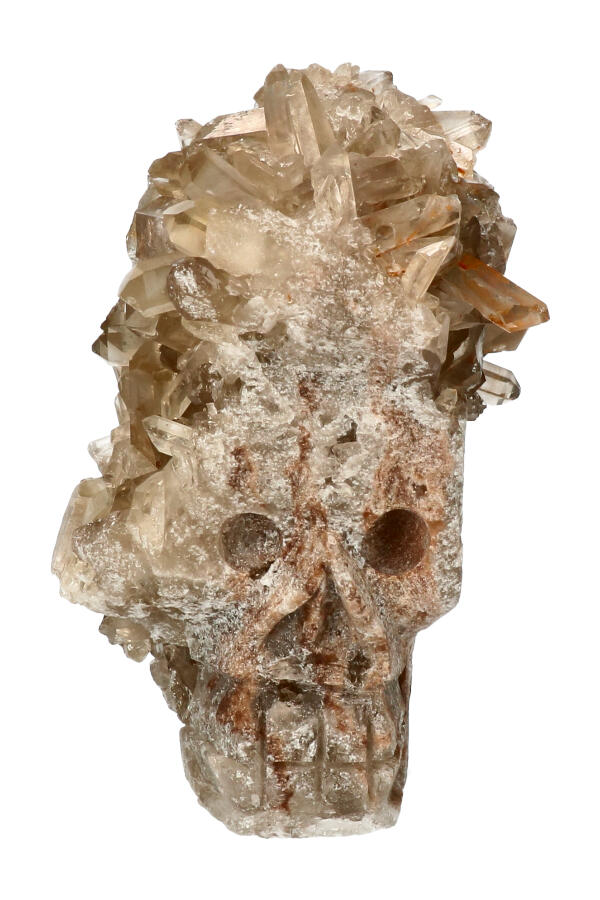 Rookkwarts kristallen schedel