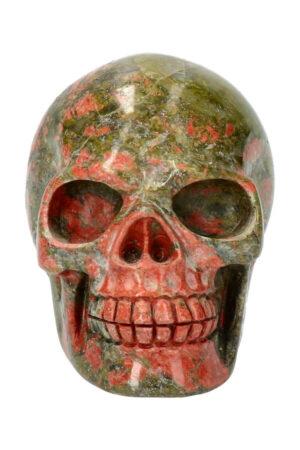Unakiet kristallen schedel