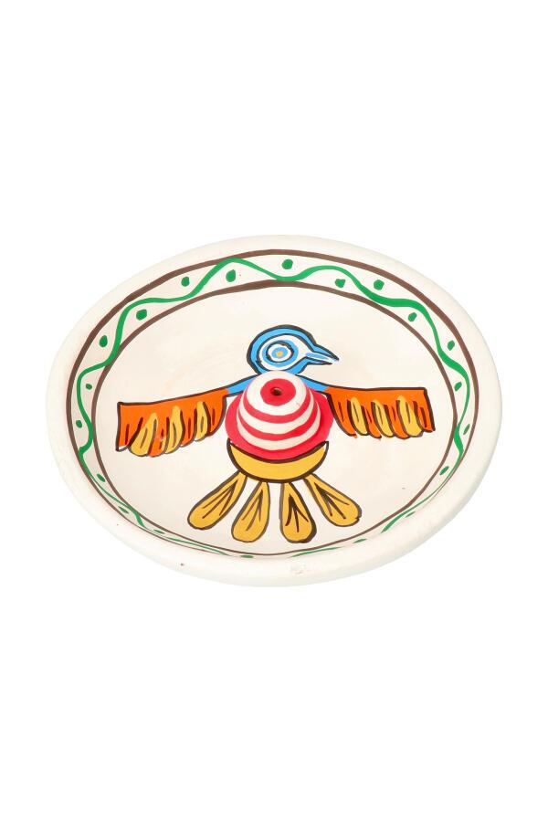 Native Soul wierookbrander wit adelaar, 12.5 cm