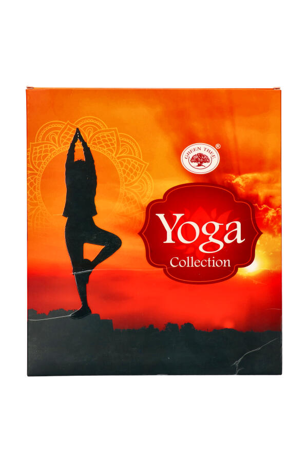 Yoga Collection van Green Tree 6 pakjes wierook
