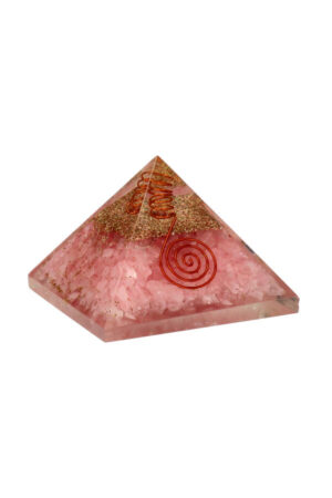 Rozenkwarts Orgoniet piramide
