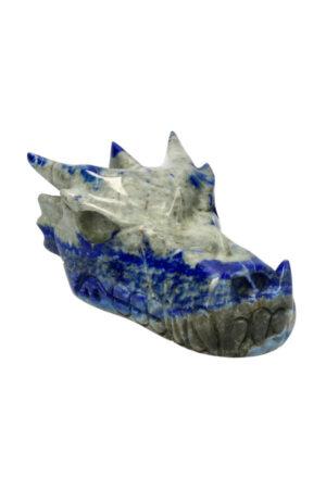Lapis Lazuli kristallen drakenschedel