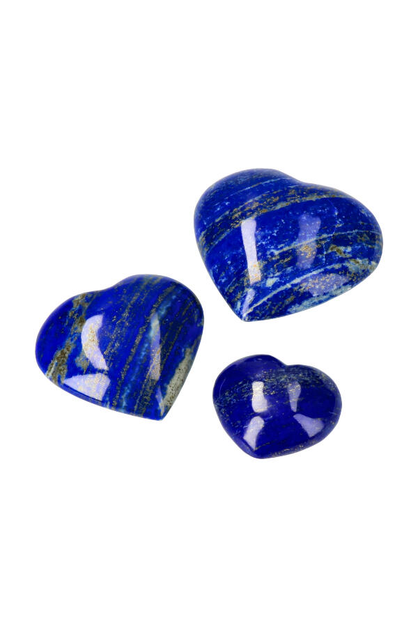 Lapis Lazuli hart, diverse maten