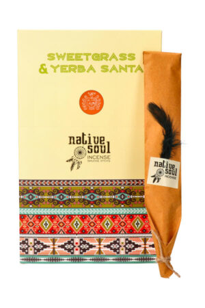 Native Soul wierook Sweetgrass & Yerba Santa