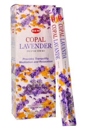 Copal Lavender wierook (Lavendel Kopaal) HEM