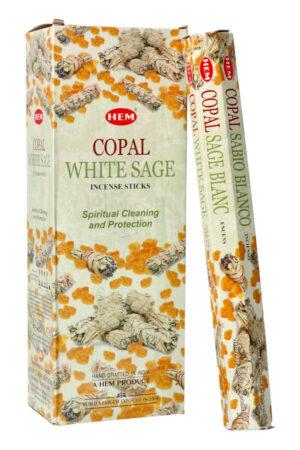 Copal White Sage wierook (Kopaal Witte Salie) HEM