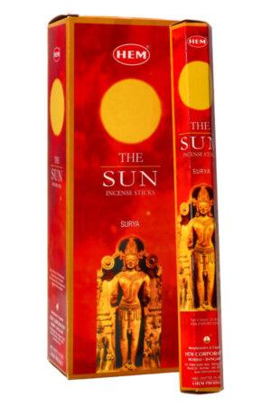 The Sun wierook (De Zon) HEM
