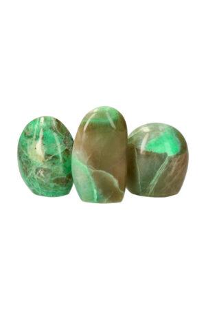 Groene Maansteen sculptuur