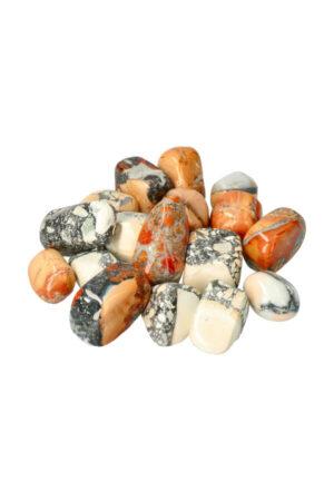 Maligano Jaspis trommelstenen uit Maligano in Sulawesi Indonesië