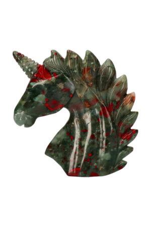 Bloedsteen eenhoorn