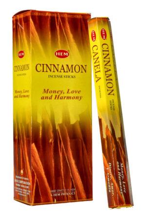 Cinnamon wierook (Kaneel), HEM