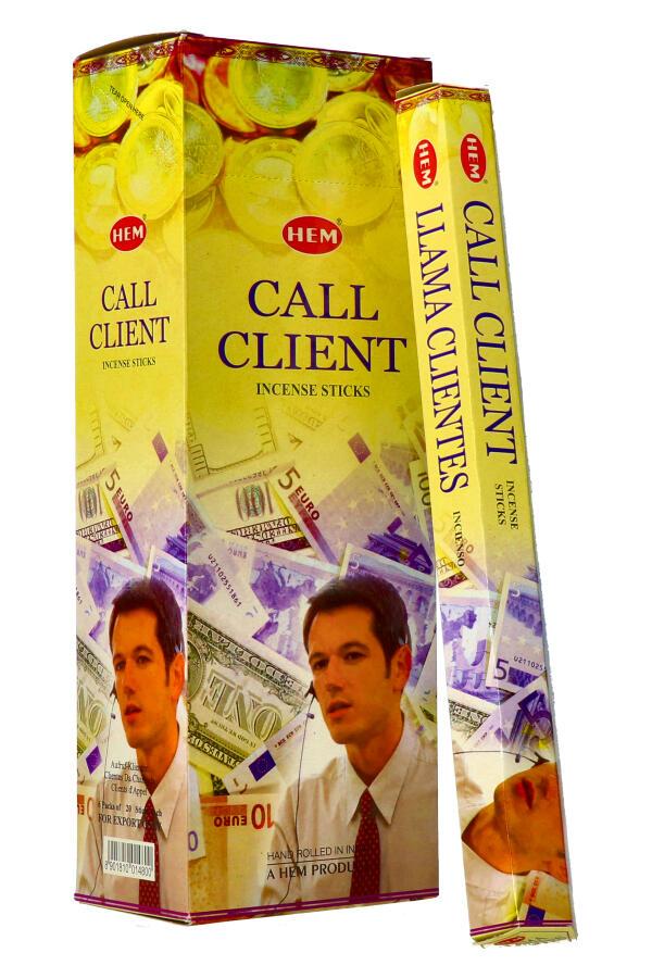 Call Client wierook (zakelijk succes), HEM