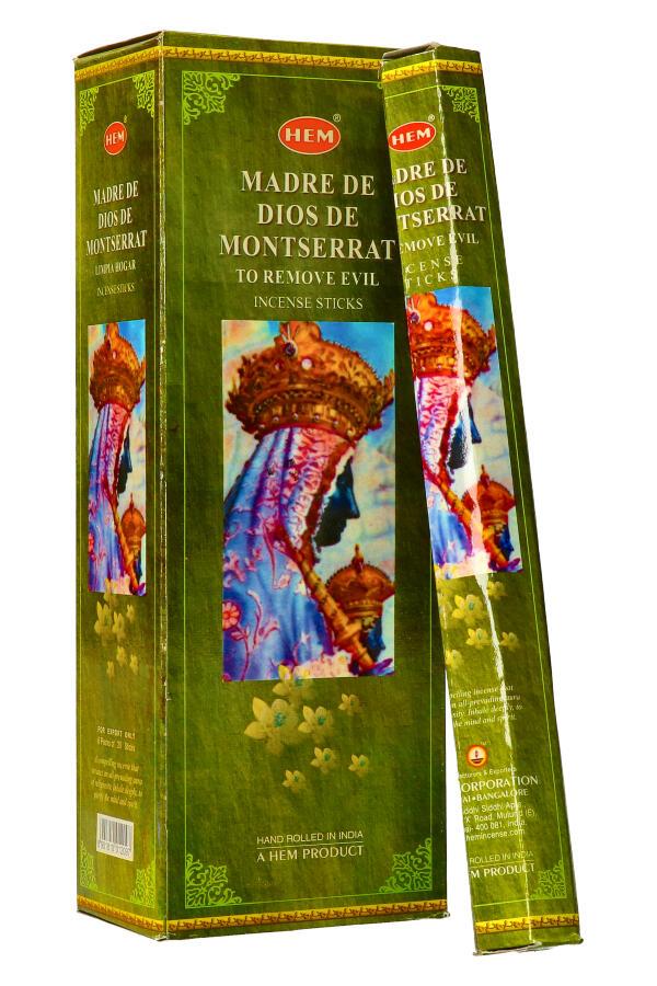 Madre de dios de Montserrat, HEM