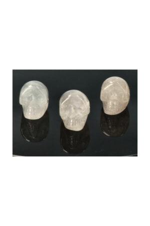 Bergkristal kristallen schedeltje, 2.5 cm