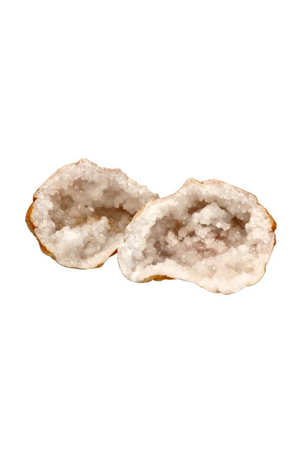 Marokkaanse Bergkristal geode, 2-3 kg, circa 16-20 cm
