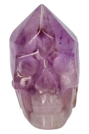 Amethist punt kristallen schedel