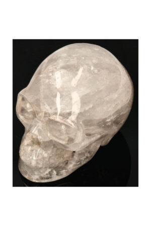 Bergkristal realistische kristallen schedel