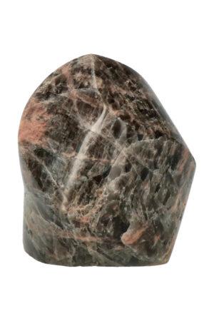Zwarte Maansteen vlam sculptuur