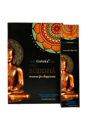 Goloka Mysterious Black The Buddha wierook 15 gram