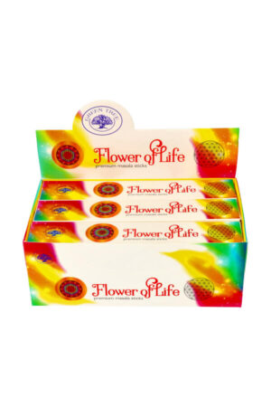 Green Tree wierook Fower of Life 15 gram