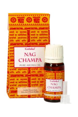 Goloka Nag Champa pure aroma oil, 10 ml