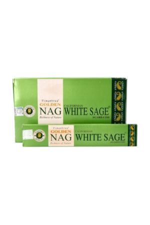 Golden Nag White Sage wierook Vijayshree