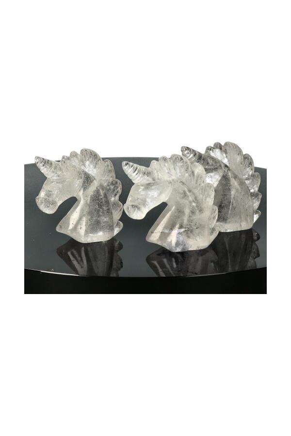 Eenhoorn Bergkristal, 5 cm
