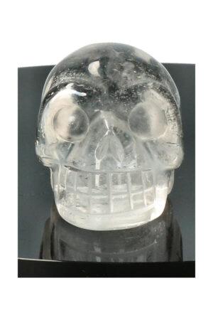 Bergkristal kristallen schedel, 4 cm