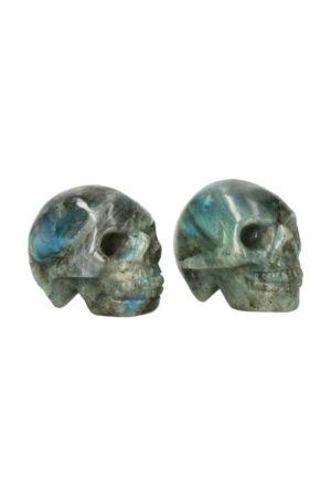 Labradoriet kristallen schedel