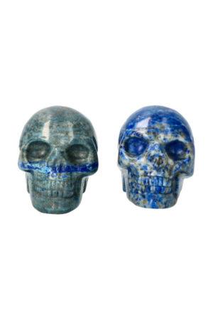 Lapis Lazuli kristallen schedel