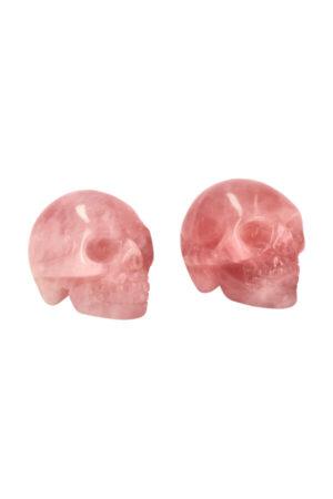 Rozenkwarts kristallen schedel