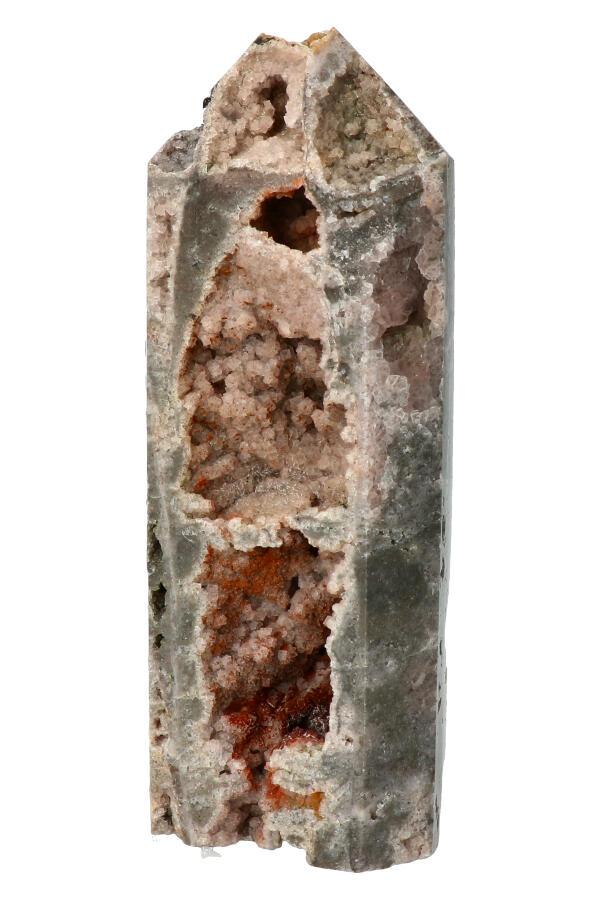 Sfaleriet geode punt uit Mexico