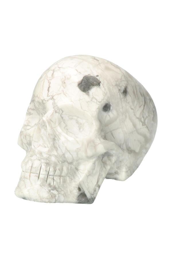 Howliet kristallen schedel, 14.5 cm, 1.85 KG