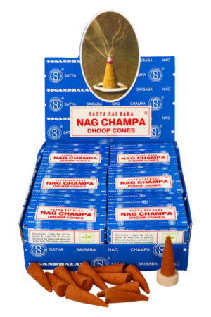 Satya Nag Champa dhoop kegels wierook