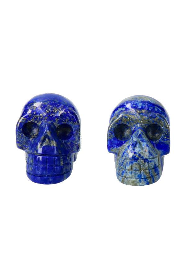 Lapis Lazuli kristallen schedel, 4 cm