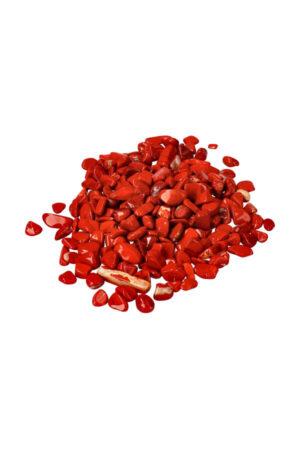 Rode Jaspis chips (kleine steentjes)