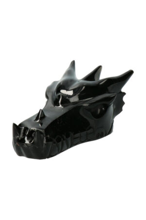 Obsidiaan drakenschedel