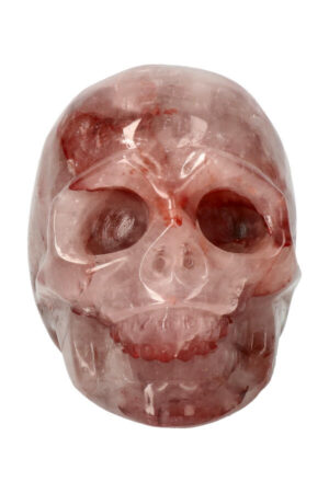 Red Healer Lemurian kristallen schedel