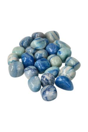 Blauwe Aventurijn trommelstenen