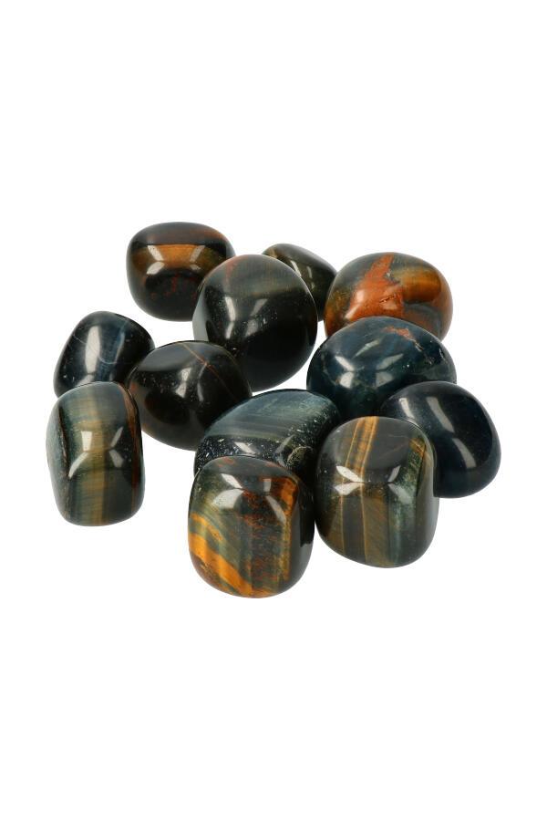 Valkenoog trommelstenen, per steen of zak van 100 gram tot 1 kilo, 2.5-3.5 cm