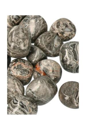 Picasso Jaspis trommelstenen getrommelde steen