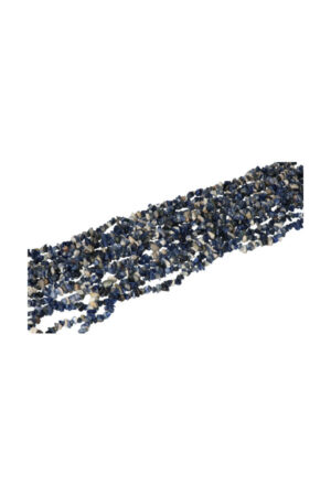 Sodaliet splitsteen streng 86 cm