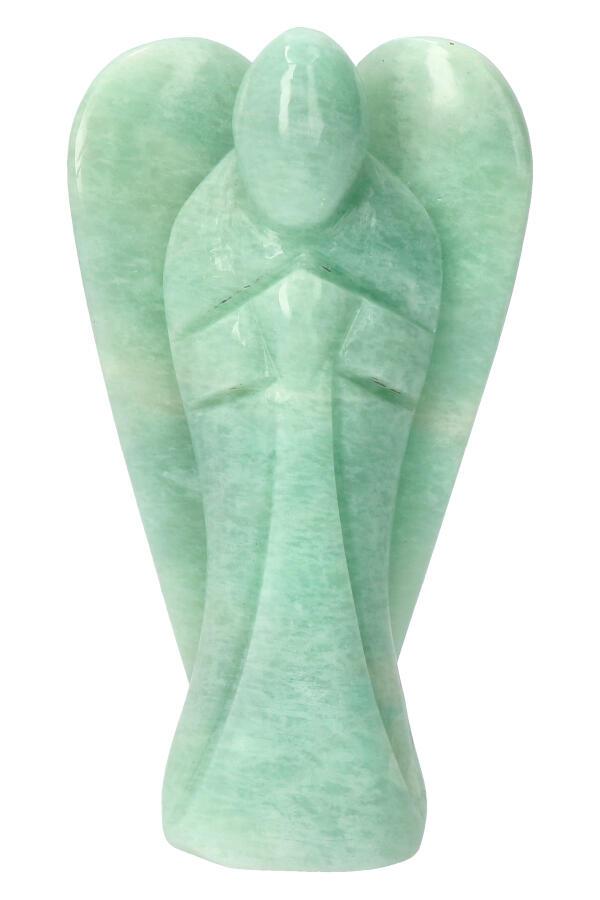 Amazoniet engel, 14 cm, 444 gram