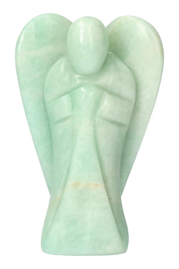Amazoniet engel, 11.5 cm, 380 gram