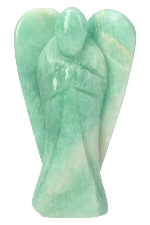 Amazoniet engel, 11.5 cm, 260 gram
