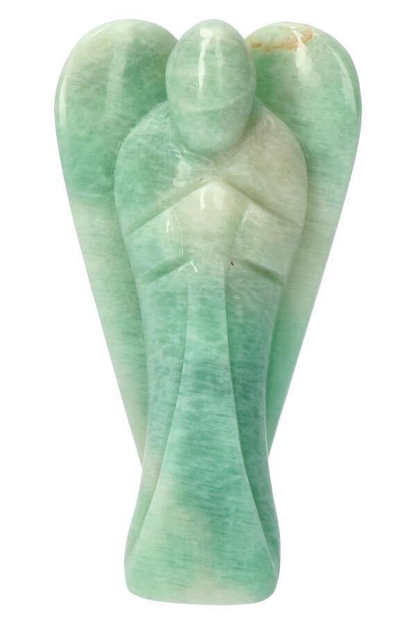 Amazoniet engel, 13 cm, 405 gram