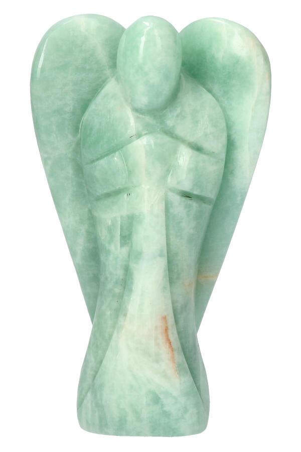 Amazoniet engel, 13 cm, 398 gram
