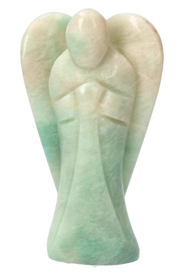 Amazoniet engel, 13 cm, 422 gram