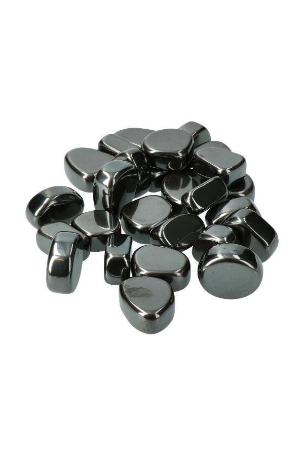 Magnetiet steen, 1 steen of zakken van 100 gram tot 1 kilo, circa 2 a 3 cm per steen, natuurlijk